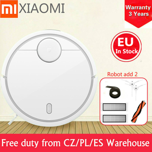 Best Present gift Original Xiaomi Mi Robot 1 Smart Plan Wifi App Vacuum Cleaner dust collectorEU warehouse in stock fast ship(China)