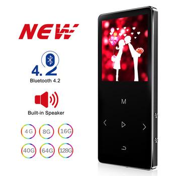 MP3 odtwarzacz z głośnikiem Bluetooth klawisz dotykowy wbudowany 8GB 16GB HiFi Metal Mini przenośny Walkman z radio FM nagrywania tanie i dobre opinie GREATLINK CN (pochodzenie) MP3 WAV MP3 WMA WAV MP1 MP2 FLAC 9cm*4cm*1cm Polimerowa Bateria Dyktafon E-czytanie książki