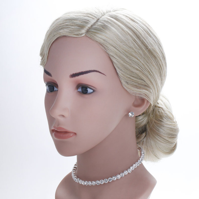TREAZY Bridal Fashion Crystal Rhinestone Choker Necklace Women Wedding Accessories Tennis Chain Chokers Jewelry Collier Femme 3