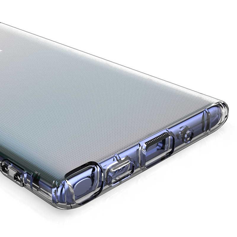 Funda protectora delgada Flexible transparente TPU para Samsung Galaxy Note 10 Pro 9 8 S10 S8 S9 Plus A10 a20 A30 A40 A50 A60 A70 cubierta