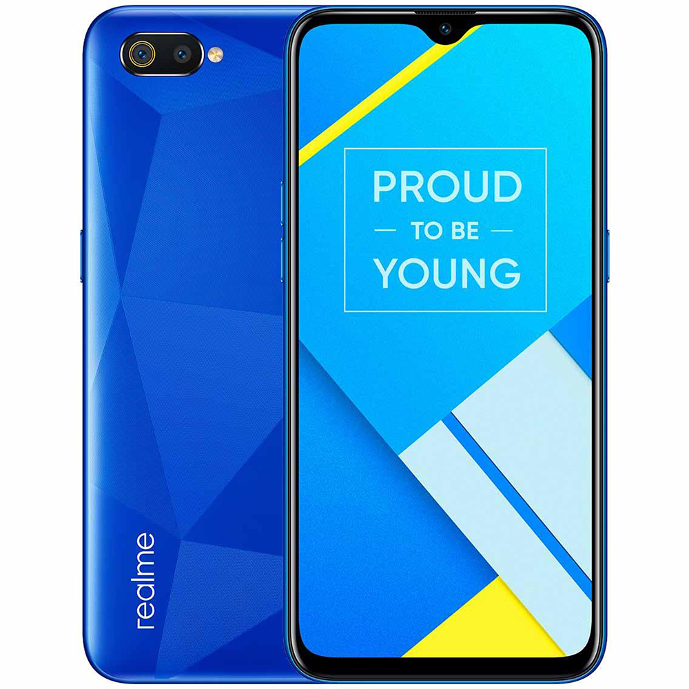 6.1 Inch Realme C2 4G Phone Android 9.0 Helio P22 Octa Core 2GB RAM 16GB ROM Cellphone 13.0MP Camera 4000mAh Battery Smartphone