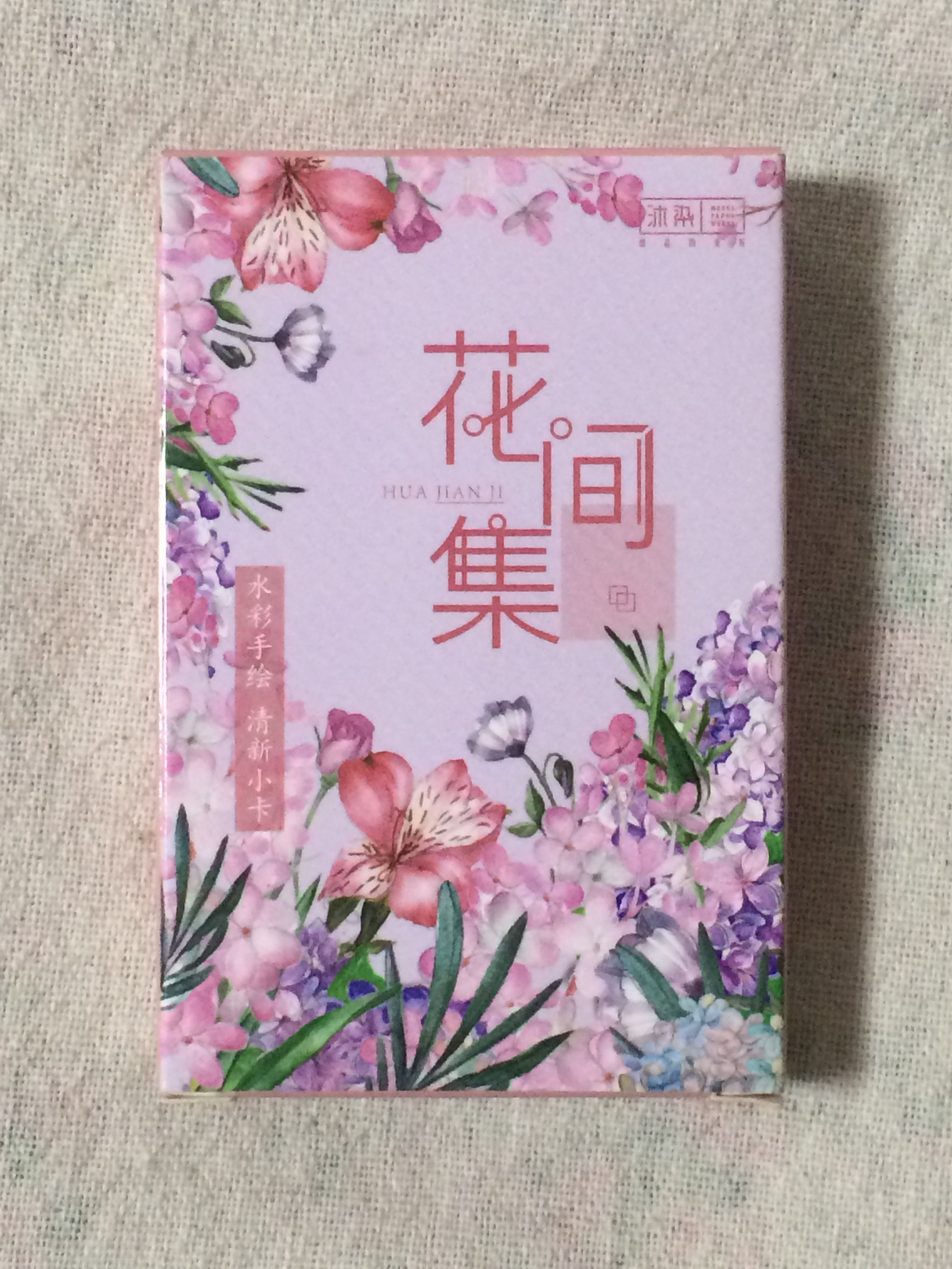 57mm*87mm Flower Story Paper Greeting Card Lomo Card(1pack=27pieces)