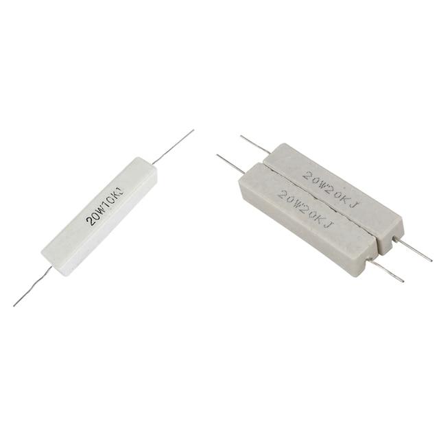 AC20 510R ohm 20W 5/% Cemented Wirewound Resistor 1pcs BC Vishay