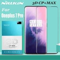 Oneplus 7 7T Pro Temperato Protezione Dello Schermo di Vetro Nillkin 3D Copertura Completa di Vetro di Sicurezza Vetro di Protezione per Un Più 7 7T Pro