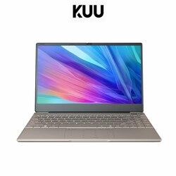 Kuu intel j4115 tela ips de 14.1 polegadas todo o metal concha escritório notebook 8gb ddr4 ram 512gb m.2 ssd com tipo c portátil