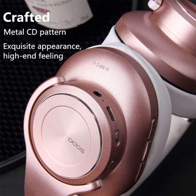 Bluetooth Headphones SODO Headset Earbuds with Microphone  4