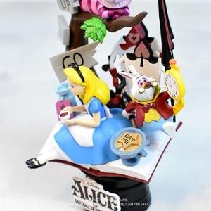 Image 4 - Disney Alice in Wonderland princess 16cm Action Figure Anime Mini Decoration PVC Collection Figurine Toy model for children gift