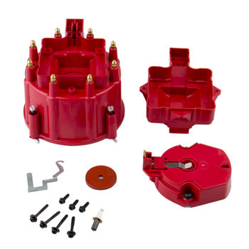 Red HEI dystrybutor duży zestaw wirnika do Chevy GM 350 454 305 SBC BBC tanie i dobre opinie CARBOLE CN (pochodzenie) 10203050