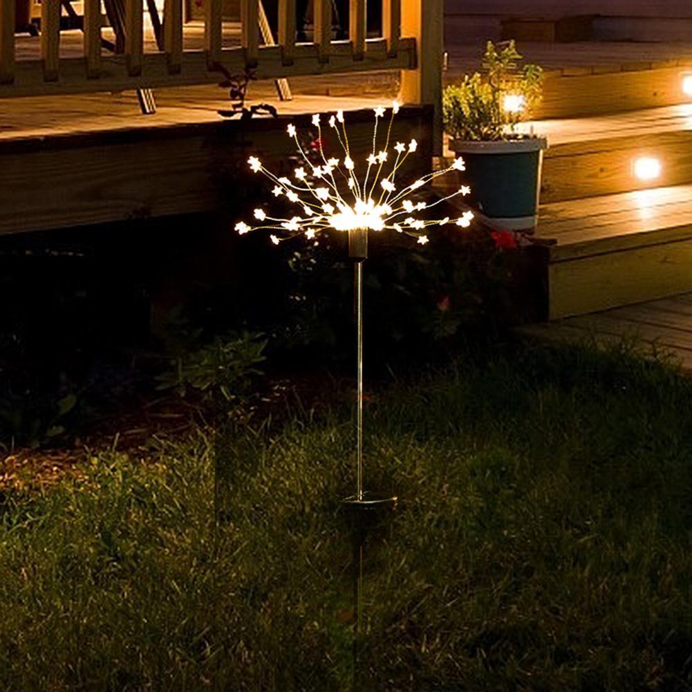 8 modo lâmpada subterrânea 2 pçs 90