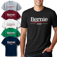 Bernie 2020 Official Campaign T Shirt Graphic US Election Politics Voting Tee 100% cotton tee shirt, tops wholesale tee