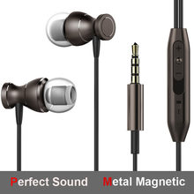 Metal Magnetic For Huawei P20lite P10 Plus P9 Lite P9lite Mini P8lite P8 Y7 Prime Y5 Y6 Y9 Earphones 3.5mm Earphone Earpiece Ear(China)