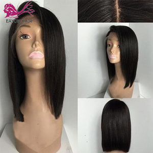 RONGDUOYI Middle Part Dark Blue Heat Resistant Fiber Hair Synthetic Lace Front Wig Long Body Wave Glueless Front Wigs for Women(China)