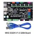 Partes del controlador de la impresora 3D MKS Sgen V1.0 Smoothieboard 32Bit Smoothieboard mks sbase actualizado tmc2130 tmc2208 tmc2209