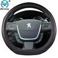 Для Peugeot 508 2010 ~ 2016 чехол рулевого колеса автомобиля искусственная кожа авто аксессуары интерьер Быстрая доставка