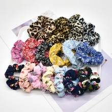 Autumn Winter Scrunchie Women Girls Elastic Hair Rubber Bands Accessories Gum For Women Tie Hair Ring Rope Ponytail Holder(China)