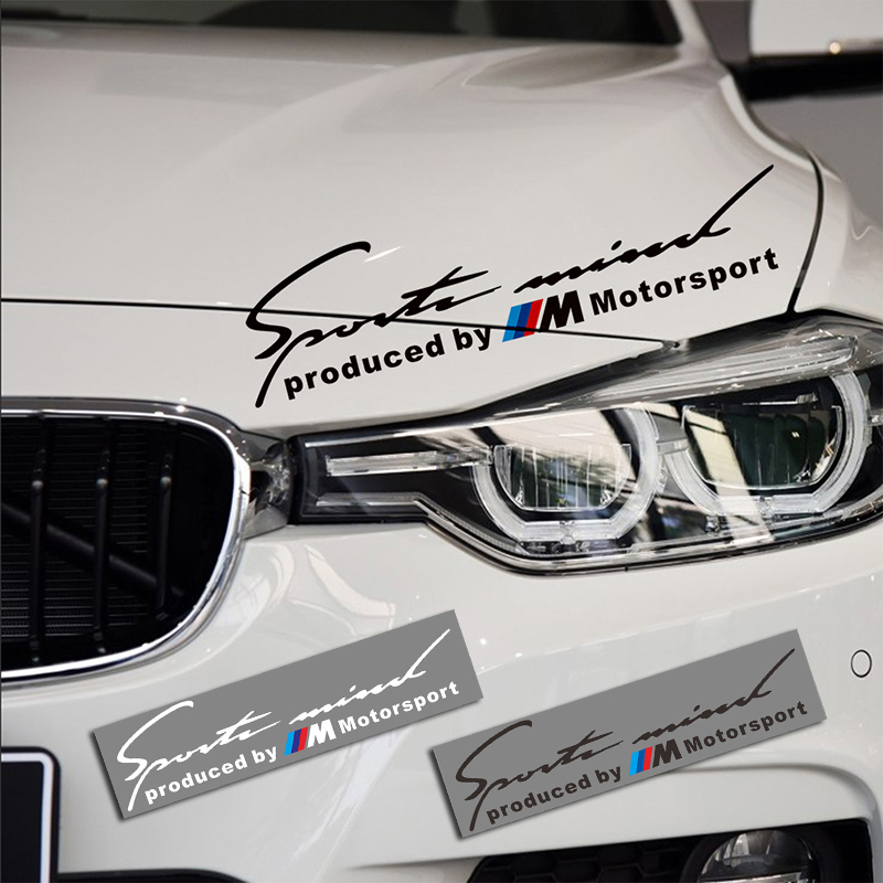 Fashion Car Styling Sports Performance Headlight Stickers <font><b>Eyebrow</b></font> Decor For <font><b>BMW</b></font> <font><b>e90</b></font> e46 e39 e60 f30 f10 f34 Car Accessories image