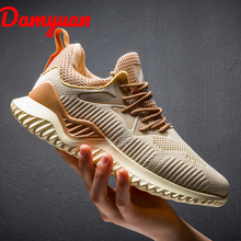Autumn and winter new breathable mens running shoes comfortable warm sneakers, outdoor walking jogging leisure