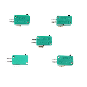 Micro Limit Switches Push Button Actuator Basic 3Pins NO NC Momentary Microswitch 16A 250V
