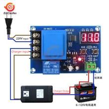 XH-M602 цифровой контроль батареи Литиевый контроль зарядки аккумулятора модуль с ЧПУ Lipo зарядное устройство переключатель защиты