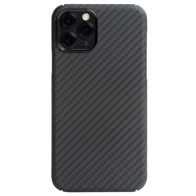 Kevlar real pure carbon fiber phone case for iphone 11 pro max Ultra-thin Anti-fall hard business cover case 11 X 7 8 plus shell