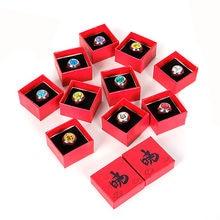 Anime naruto anel itachi uchiha organização cosplay anéis para mulheres símbolo jóias presente