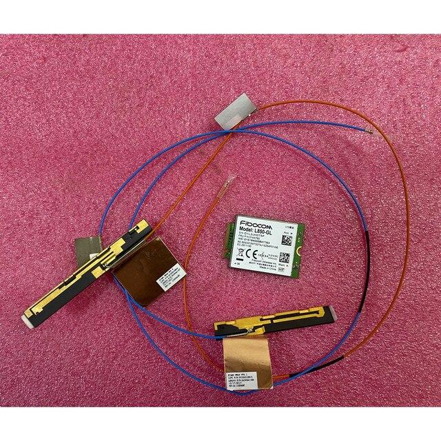 Fibocom L850 GL 01AX792 4g WWAN Card original Antenna for Lenovo Thinkpad T480 A485 01YR494 01YR495