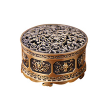 Sandalwood Incense Burner Holder Zinc Alloy Chinese Buddha For Home Office Teahouse Decoration Supplies