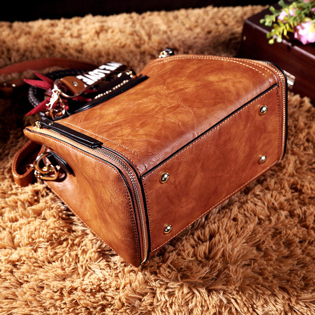Vintage Leather Handbags/Shoulder Bags