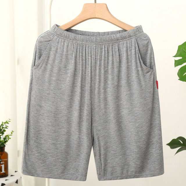 Homme Short Mens Jogging Casual Sweatpant Men Plus Size 6XL Breathable Home shorts Beach Solid Cotton Shorts Men Striped Panties 3