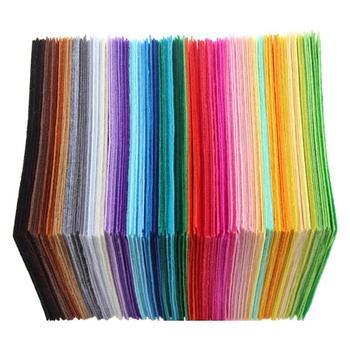 40 sztuk Multicolor DIY Craft nie tkany filc tkanina tkanina poliestrowa filc rzemiosło czuł odzież z tkaniny krawiectwo dostaw tanie i dobre opinie CN (pochodzenie) Non-woven fabric Colorful 15 X 15cm 5 91 X 5 91in OPP bag packaging Home Decor basteln bastelbedarf
