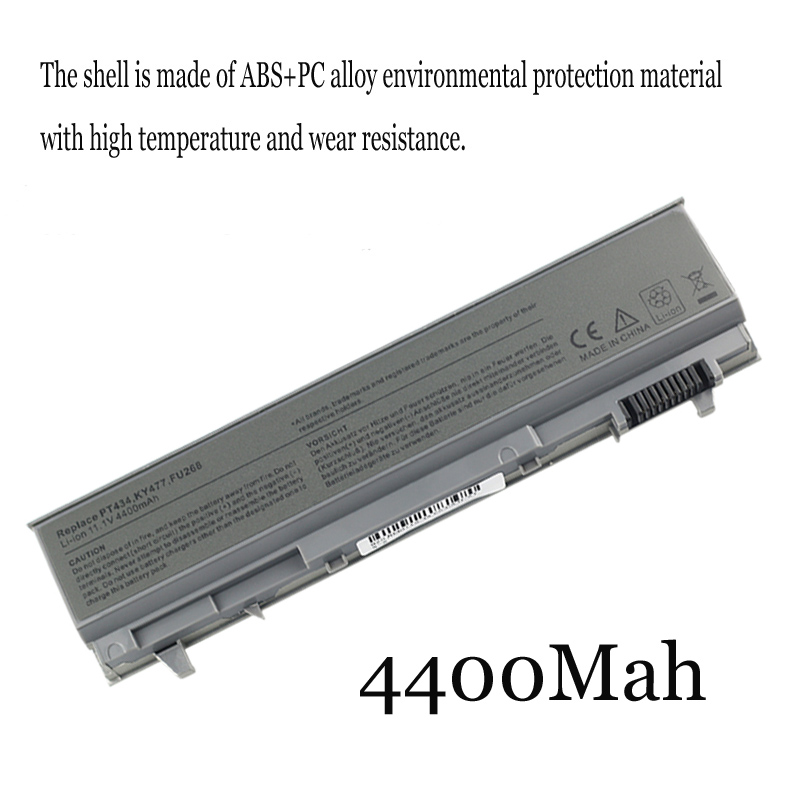 1PC Neue Laptop <font><b>Batterie</b></font> Interne Für Dell Latitude E6400 <font><b>E6410</b></font> E6510 E6500 M2400 M4400 M4500 image