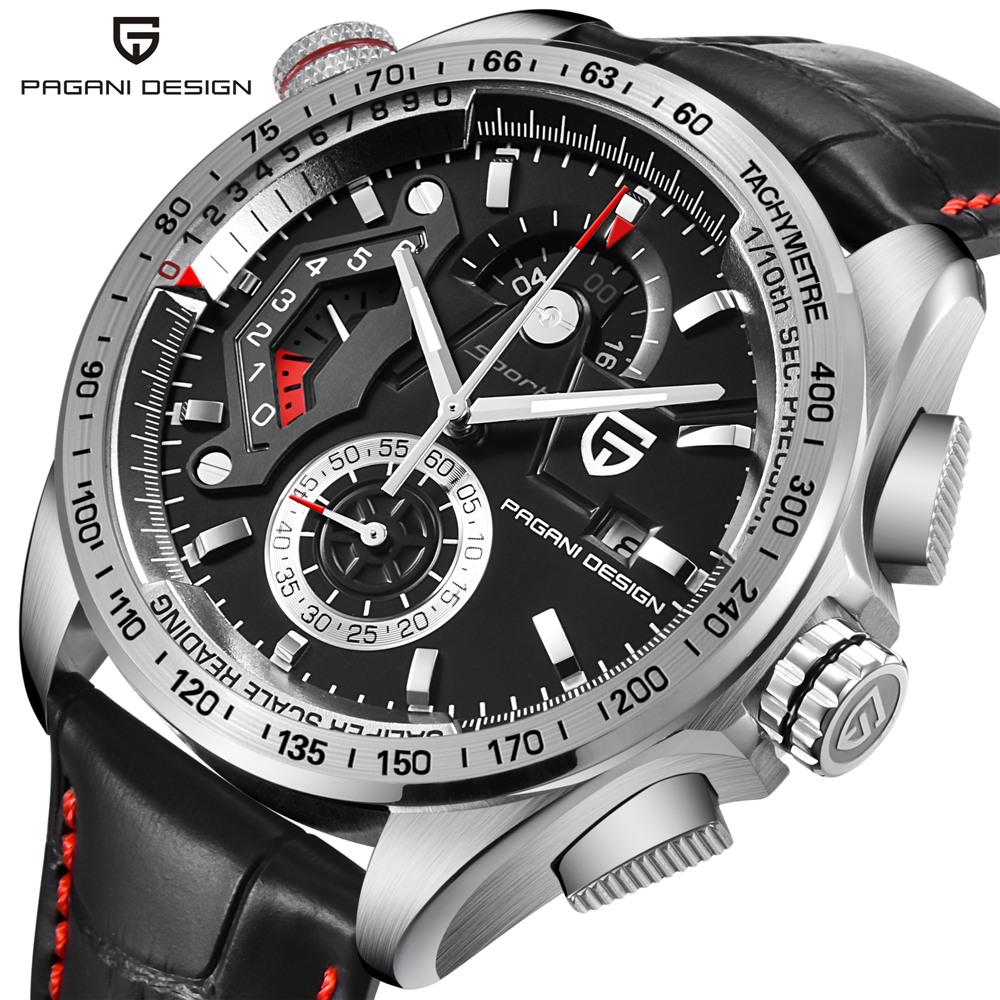 PAGANI DESIGN Luxury Brand Men Sports Quartz Watch 30M Waterproof WristWatch New Fashion Casual Men Watch relogio masculino