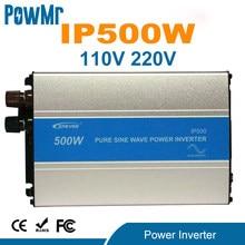 EPever 500W czysta fala sinusoidalna falownik 12V/24V wejście 110VAC 120VAC 220VAC 230VAC wyjście 50HZ 60HZ wysokowydajny konwerter IPower