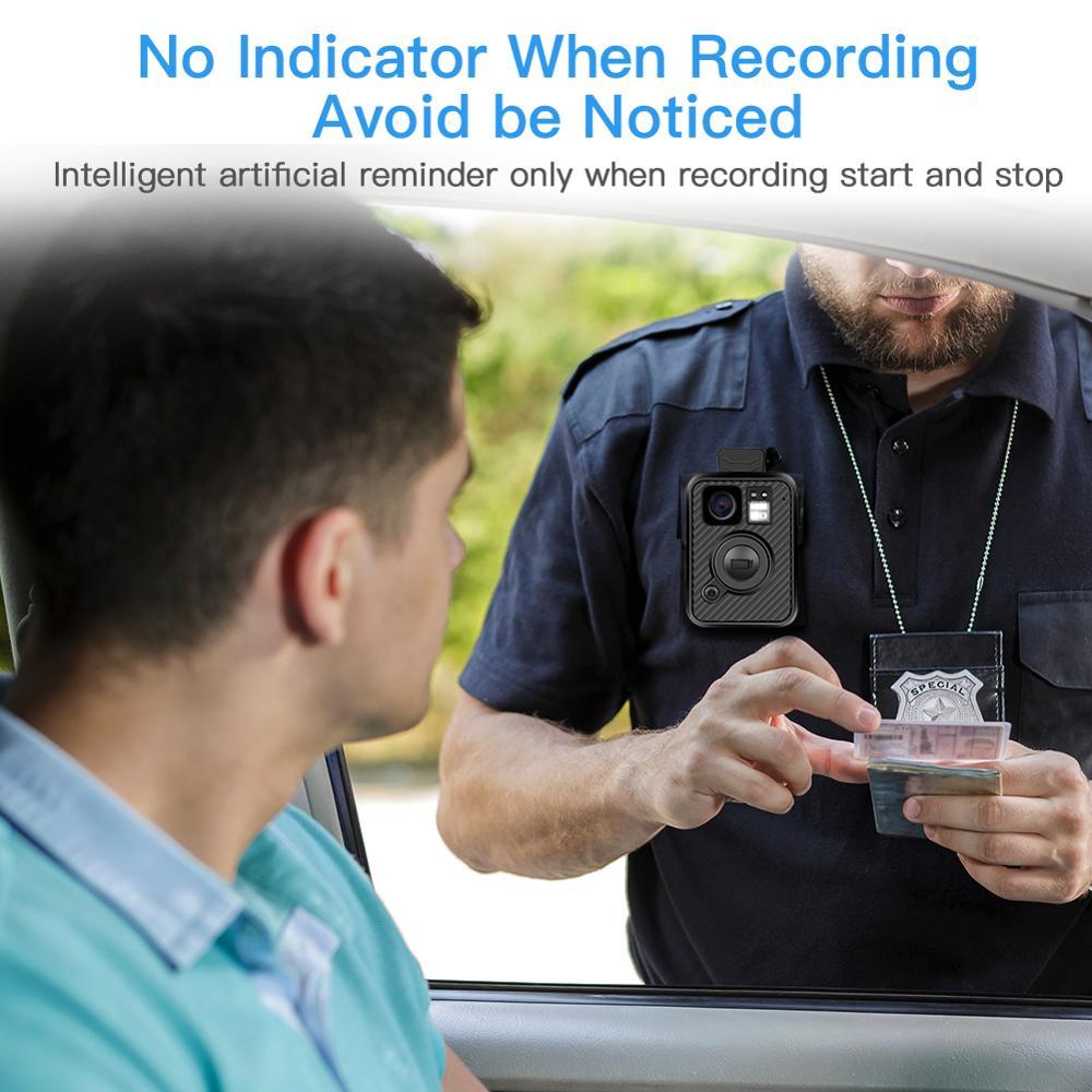 BOBLOV HD66 07 Ambarella A12 64 GB de Áudio Gravador De Vídeo Visão Nocturna do IR Mini Kamera Micro espion Corpo Polícia Câmera HD - 3