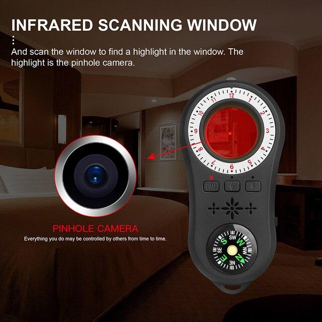 Anti Spy Surveillance Camera Detector Wireless Signal Anti-covert Camera Finder 2