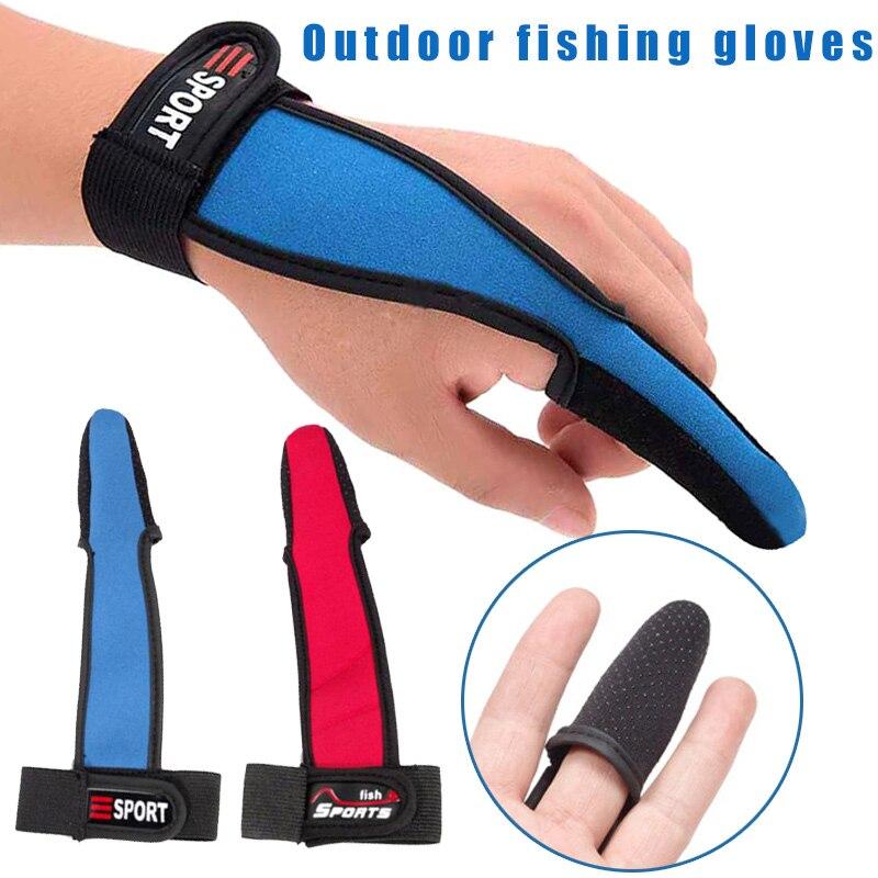 Лидер продаж, защитные перчатки с одним пальцем для рыбалки, рыбаков без пальцев, нескользящие перчатки для серфинга, инструмент для морской рыбалки MVI ing|Перчатки для рыбалки|   | АлиЭкспресс