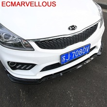 Molding Coche Style Car Bumper Protector Auto Guard Car-styling Sticker Modification Anticollision Adhesive 17 FOR Kia K2
