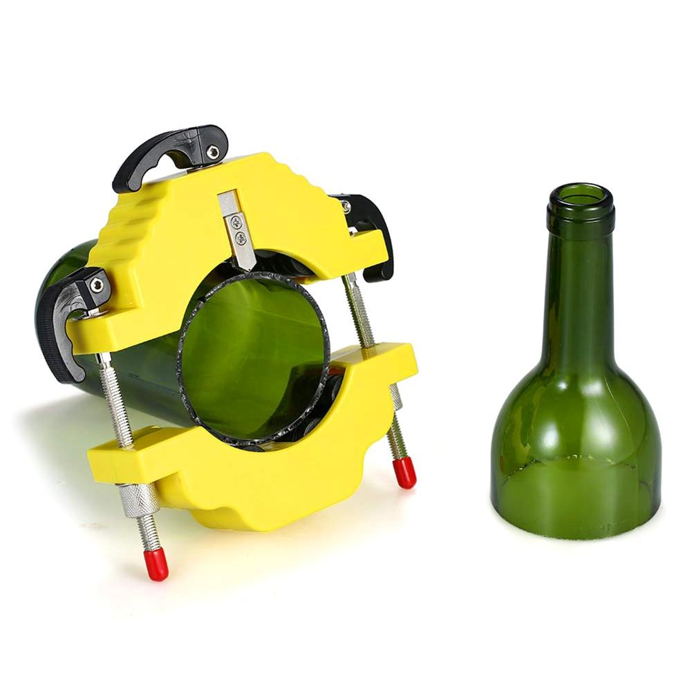 Glass Wine Beer Champagne Bottle Cutter Stainless Steel Better Cutting Control Create Glass Sculptures Catchers Flowerpot Making