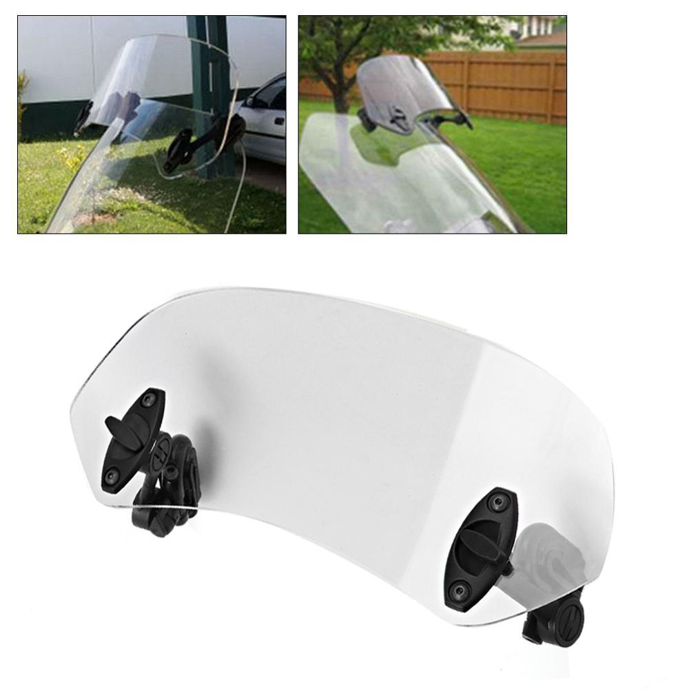 clip ajustable universal en el parabrisas Deflector de viento Accesorios de parabrisas Parabrisas de motocicleta