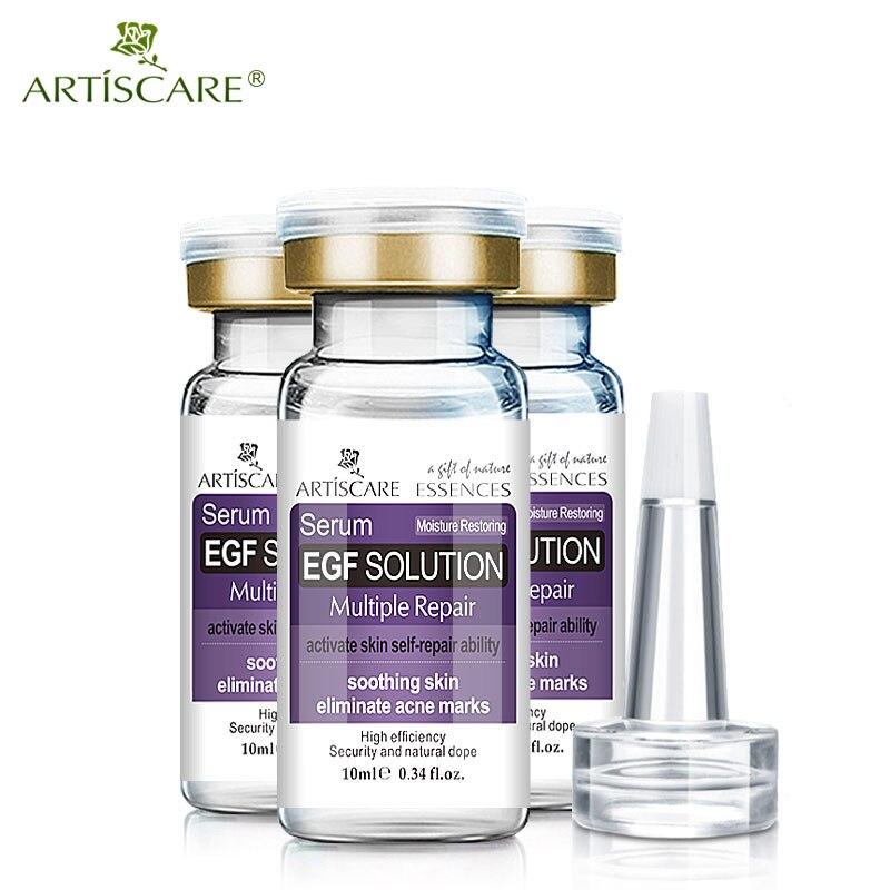 ARTISCARE EGF Whitening Moisturizing Serum Anti Wrinkle Acne Treatment Blackhead Skin Care Set Ageless Repair Essence 3PCS