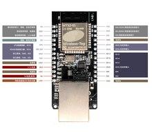 WT32 ETH01/número de serie incrustado, puerto a Ethernet, módulo de transmisión transparente/Bluetooth + wifi combo/convertidor de protocolo ESP32 RJ45