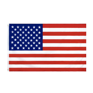 Xiangying 90x150cm polyester united states of american thin blue line first responder police memorial flag