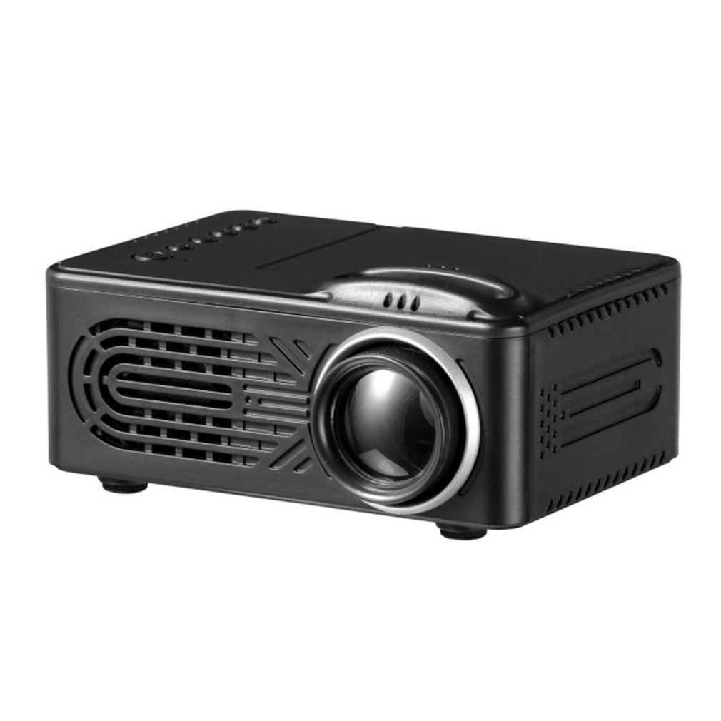 814 Mini Micro Portable Home Entertainment Projector Supports 1080P Hd Mobile Phone Connection Projector|Conference System| |  - title=