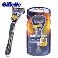 Gillette Fusion Proglide Power Razors Men Grooming Flexball Shaver Safety Razor Face Hair Remover Shaving Machine