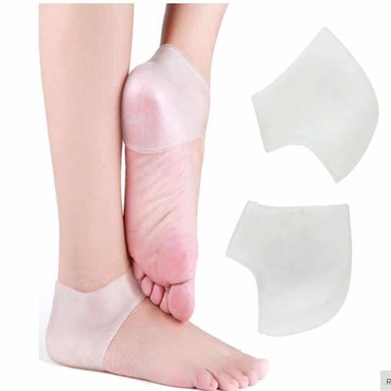 2 ADET Silikon Topuk Jel Pedi Yastık Ayak Kol Bileği Desteği Koruma bale ayakkabısı Yüksek Topuklu Kırık Çorap Jel Bakım Aracı
