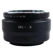 Foleto DKL Camera Lens Adapter Ring DKL-FX DKL-NEX DKL-M4/3 for Retina DKL Lens to NEX fujifilm olympus panasonic m43 lens a5 a7 pixco tilt lens adapter ring suit for olympus om lens to sony nex camera nex 5 nex f3 nex c3 nex 3