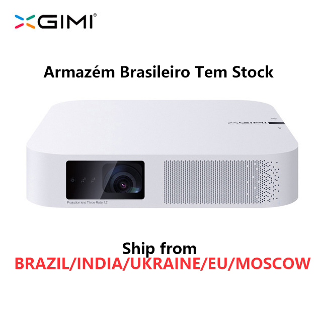 Inteligente Projetor XGIMI Z6 Polar 1080P Full HD 700 Ansi Lumens DLP LEVOU Mini Projetor Android 6.0 Wi-fi Bluetooth smart Home Theat