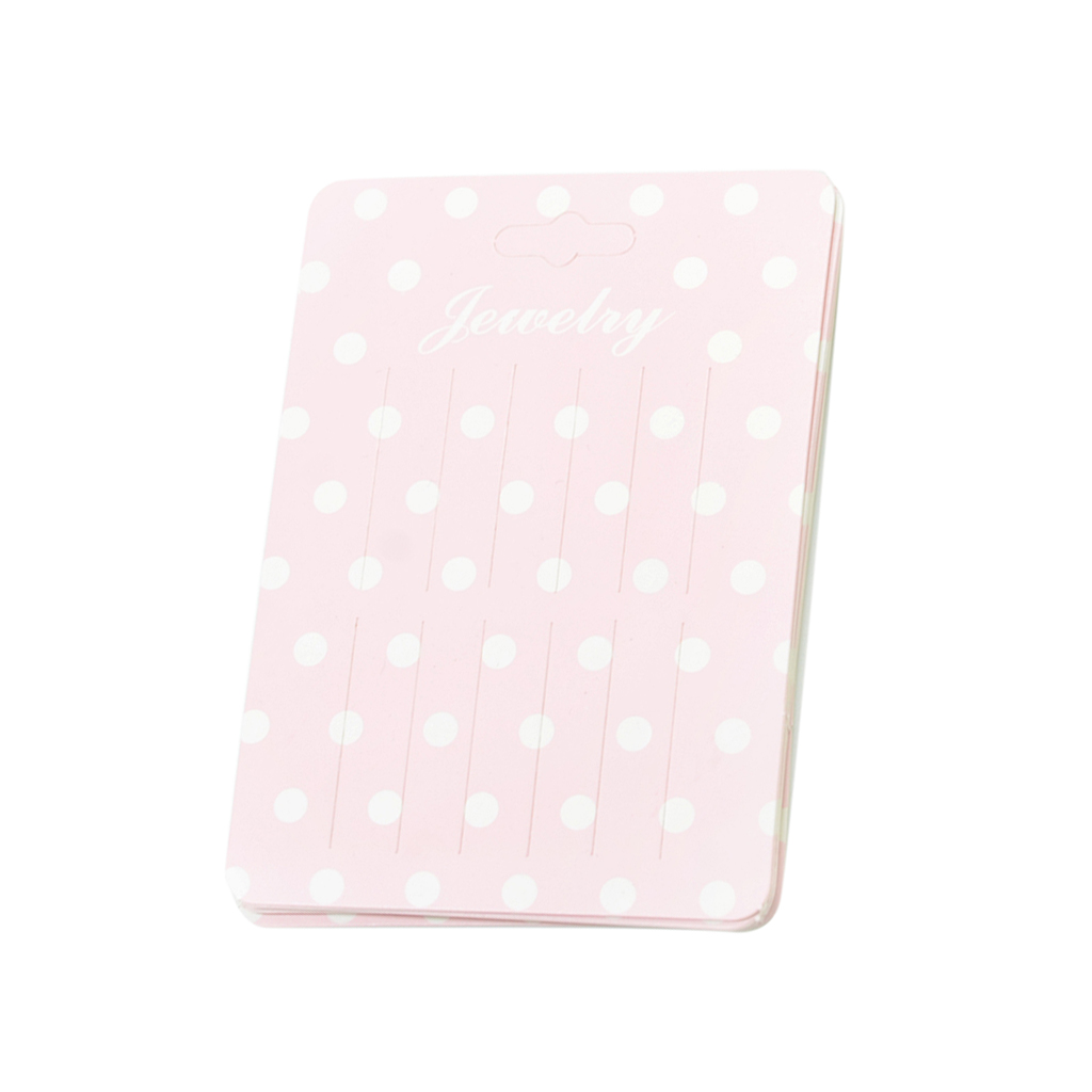 20 Piece Cute Rectangle Paper Hair Clip Hairpin Barrette Hair Jewelry Hair Accessories Display Packaging Cards