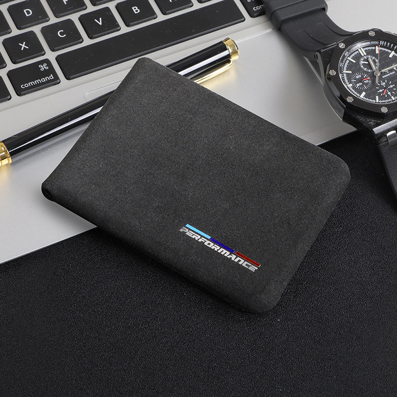 1PC Leather Auto Driver License Bag Car Driving Documents Card Credit Holder Purse Wallet Case For bmw style