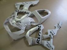 Motorcycle bodywork for Honda CBR 900RR 2000 2001 fairing kit CBR929RR white repsol fairings CBR 929RR 00 01 CBR929 YT63